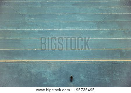 background of blue paint cement staircase vintage style
