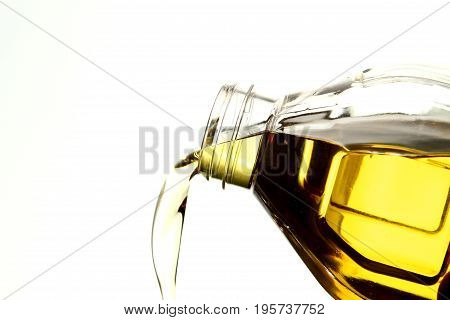 Oil droplet background / Cooking oil is plant, animal, or synthetic fat used in frying, baking, and other types of cooking. It is also used in food preparation and flavouring not involving heat