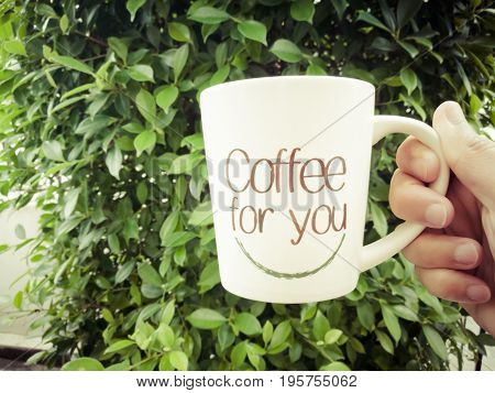 coffee for you a cup of coffee