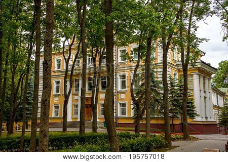 An ancient residence of the governor of Vitebsk. Belarus July 2017.