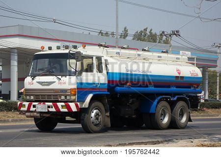 Oil Hino Truck Of Dao Viang Ping Oil Transport