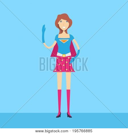 Super Hero Character   set of vector character illustration use for human, profession, business, marketing and much more.The set can be used for several purposes like: websites, print templates, presentation templates, and promotional materials.