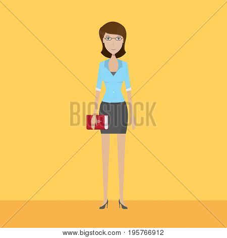 Teacher Character   set of vector character illustration use for human, profession, business, marketing and much more.The set can be used for several purposes like: websites, print templates, presentation templates, and promotional materials.
