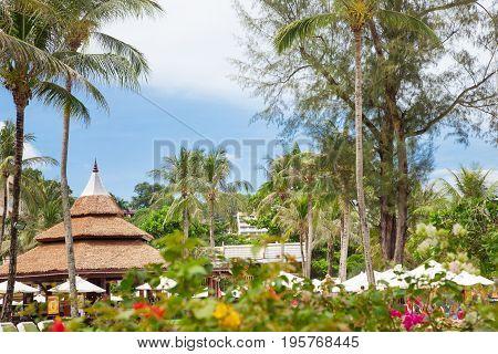 PHUKET, THAILAND - APRIL 18, 2017 Kata Beach Sunny Day