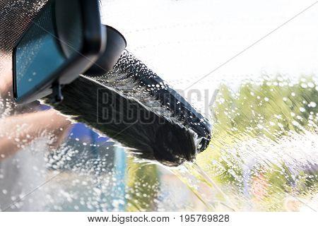 Carwash With Brush