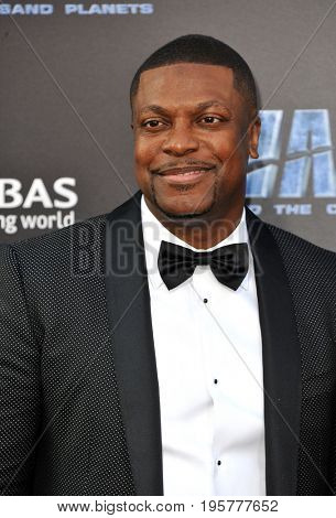 Chris Tucker at the World premiere of 'Valerian And The City Of A Thousand Planets' held at the TCL Chinese Theatre in Hollywood, USA on July 17, 2017.