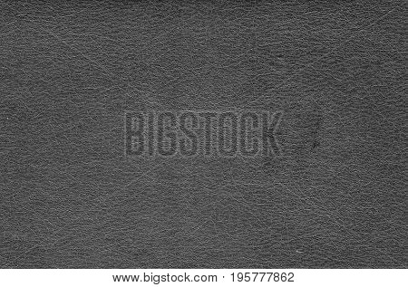 Gray Color Artificial Leather Surface.