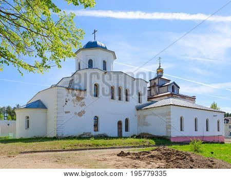 Church of Holy Great Martyr and Healer Panteleimon in urban settlement of Ruba Vitebsk region Belarus