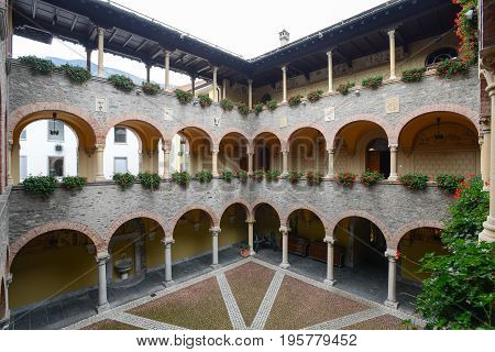 The Palace Of Government At Bellinzona