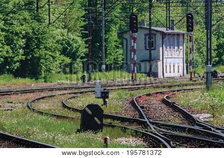 RAIWAY INFRASTRUCTURE - Railway signs, semaphores and railroad crossings