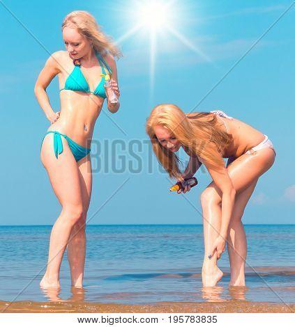 Couple on a Beach Portrait