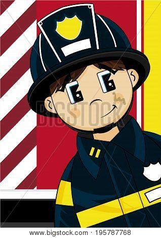 Cute Fireman 45