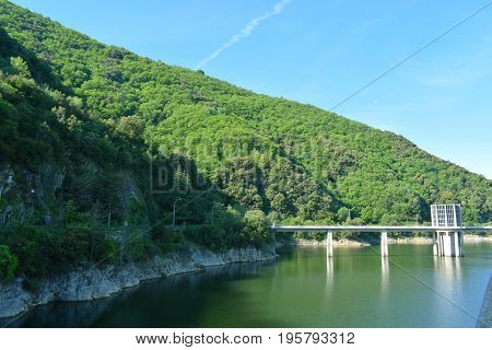 Reservoir of Suaqueda placed in Gerona Spain