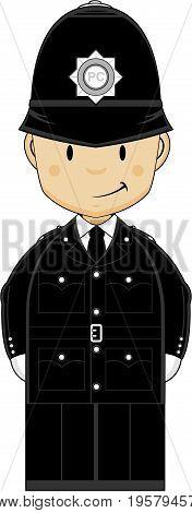 Cute Mini Policeman.eps