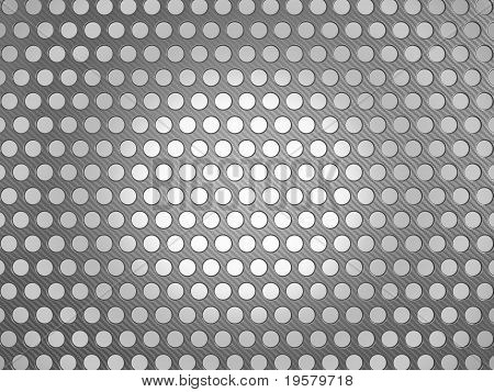 Carbon Fiber Surface With Holes