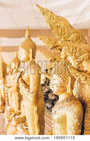 Golden Buddha Statue.