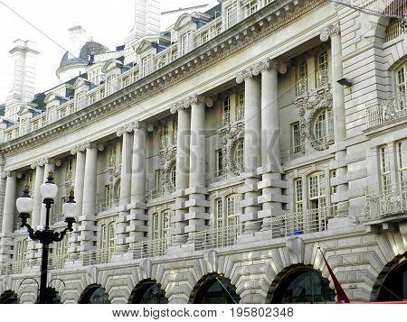 Regent Street is a major shopping street in London