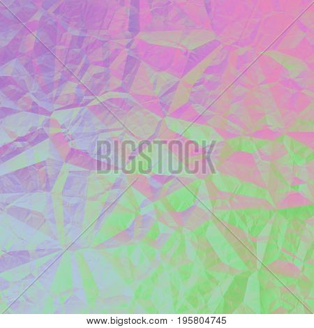 Green Pink Violet Abstract Geometrical Background Design Graphic
