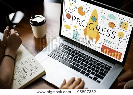 Business Objectives Goals Progress Improvement Concept