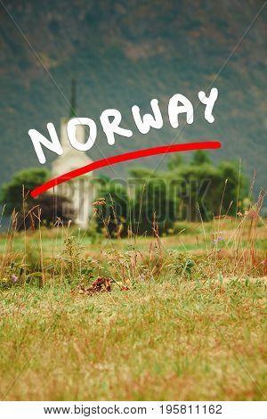 Oppstryn Church In Norway
