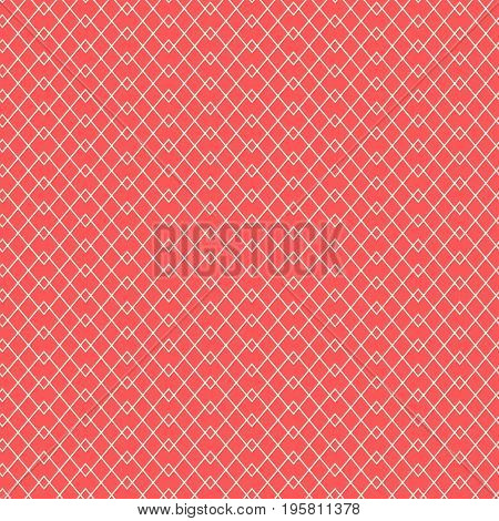 Seamless grid pattern. Thin line wallpaper. Simple graphic design element. Scrapbooking, room wallpaper, flyer, poster, web site backdrop. Fine line stylish texture. Vector illustration