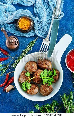 Fried Meatballs