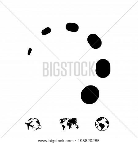 loading icon stock vector illustration flat design