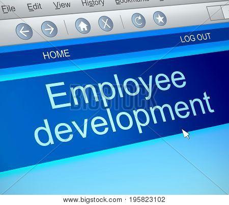 Employee Development Concept.