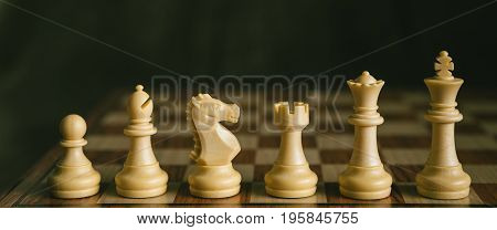 White Chess Piece