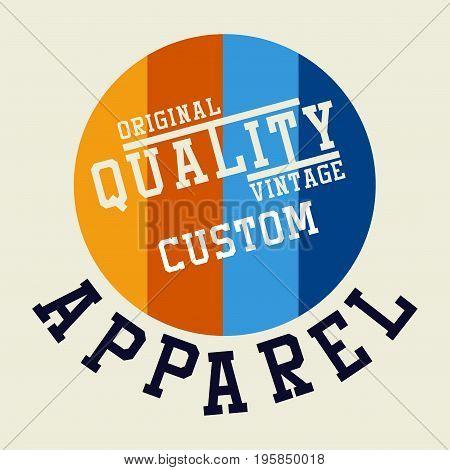 graphic design ORIGINAL QUALITY VINTAGE for shirt and print