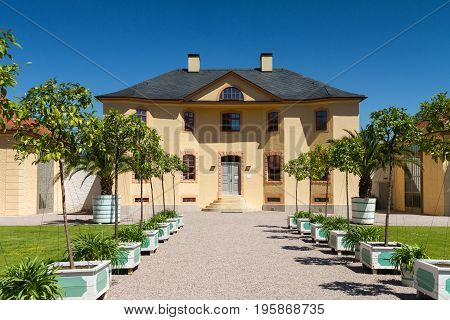 Orangery of castle Belvedere Weimar Thuringia Germany