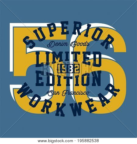 graphic design superior limited for shirt and print