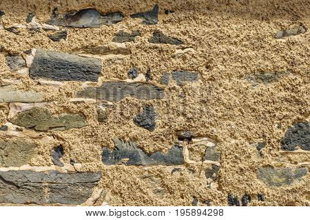 stone wall cement texture New Hope PA