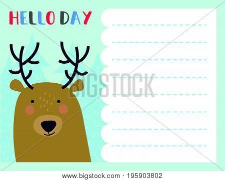 Vector Notes Card
