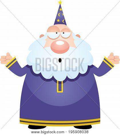 Confused Cartoon Wizard