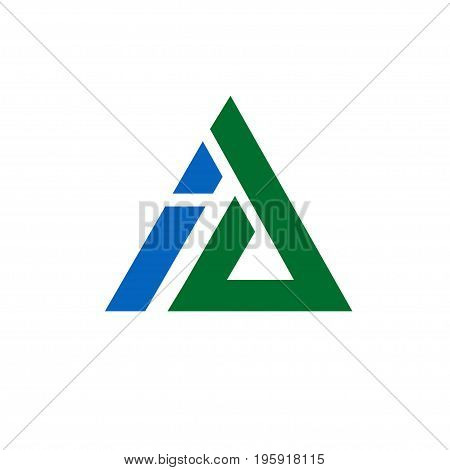 letter A and I logo vector, ai logo, letter a, letter i concept