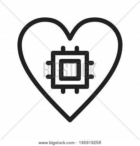 Computing, security, internet icon vector image. Can also be used for Data Analytics. Suitable for web apps, mobile apps and print media.