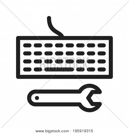 Code, software, engineer icon vector image. Can also be used for Data Analytics. Suitable for web apps, mobile apps and print media.
