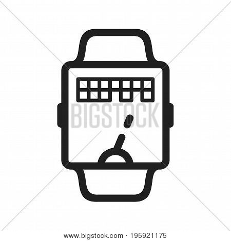 Game, app, watch icon vector image. Can also be used for Smart Watch. Suitable for mobile apps, web apps and print media.