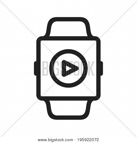 Music, app, smart icon vector image. Can also be used for Smart Watch. Suitable for mobile apps, web apps and print media.