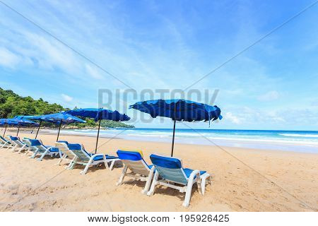Tropical Beach, Kata Noi In Phuket Island, Andaman Sea, Thailand