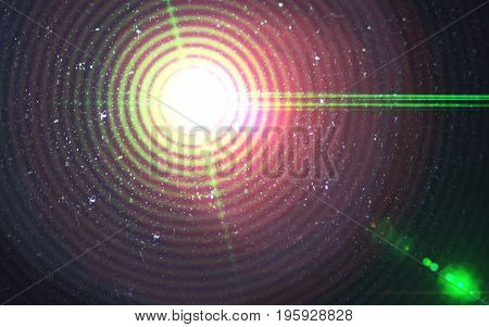 Abstract global beautiful backgrounds lens flare lights. Colorful Wave lens flare