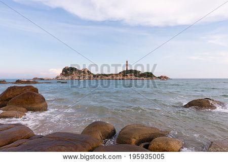 Ke Ga lighthouse Phan Thiet,Binh Thuan, Vietnam