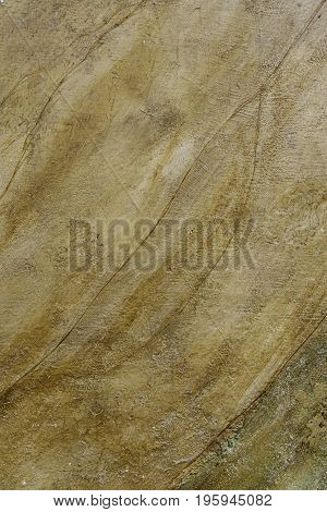 Cement Background With Moisture And Ruin