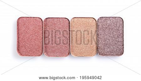 Beige Eyeshadow For Make Up As Sample Of Cosmetic Product