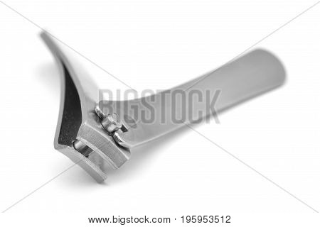 nail clipper isolated on a white background
