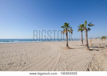 Almadraba Beach In Benicassim