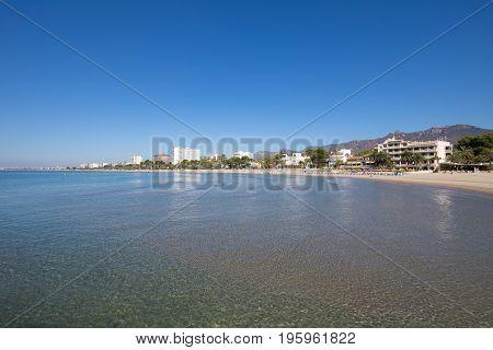 Voramar Beach In Benicassim From Wate