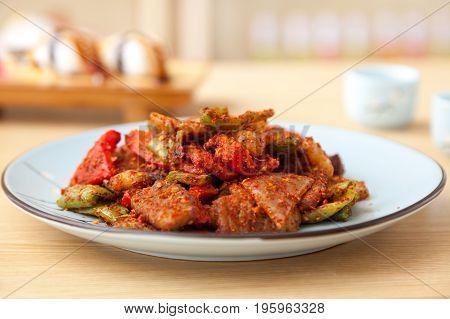 Spicy Streaky Pork