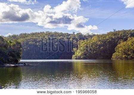Wallagaraugh River Croajingolong National Park, Australian Landscape